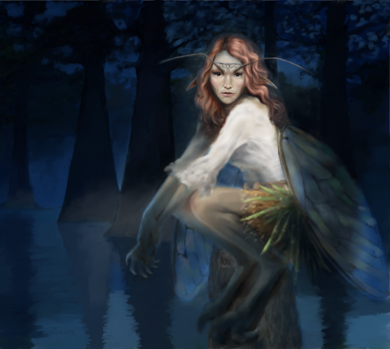 Halloween Concept Art – Faeries
