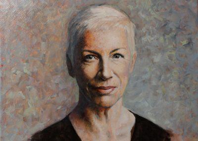 Demo portrait in oil